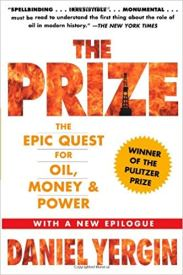 Book cover of Daniel Yergin's The Prize - a book on energy