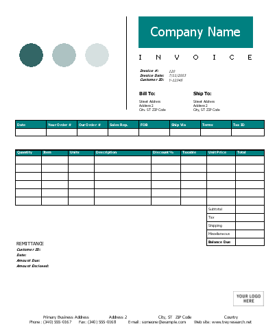 dental invoice template excel free – notators, Invoice examples