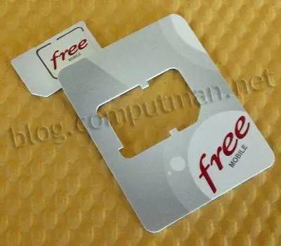 carte sim free mobile