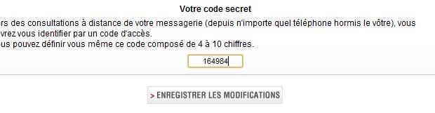 codesecretmessageriefreemobile