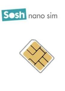 sosh propose d j sa carte nano sim en commande pour 1 euro free mobile iphone. Black Bedroom Furniture Sets. Home Design Ideas