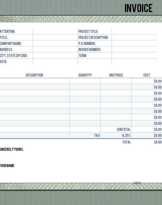 timeless legal invoice template for numbers free iwork templates