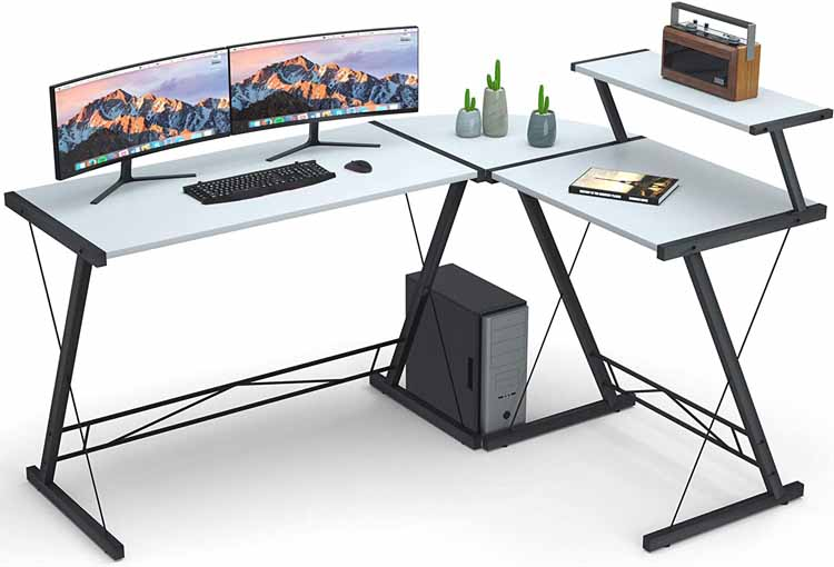 L Shaped Desk for Students