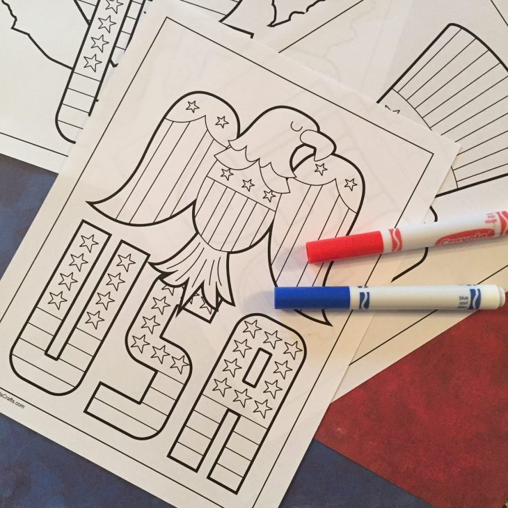Printable Patriotic Coloring Pages