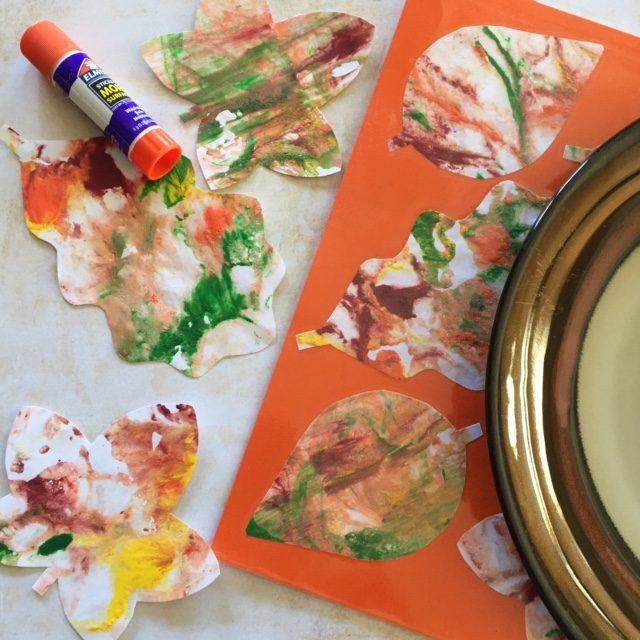 DIY Fall Placemat (Great for Thanksgiving)