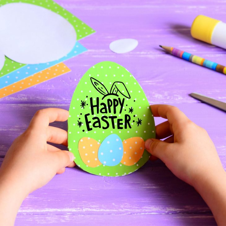 Printable Easter Egg Card