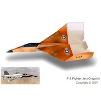 Image of F 15 Paper Airplane