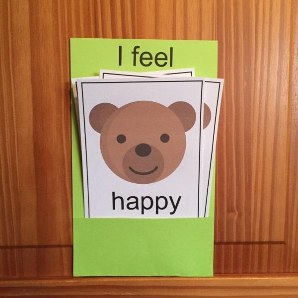 Image of Preschool Emotions Activity