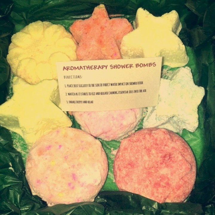 Soothing Aromatherapy Shower Bombs