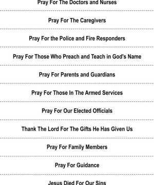 Image of Lenten Prayer Chain