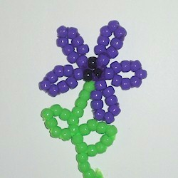 Image of Beaded Flower
