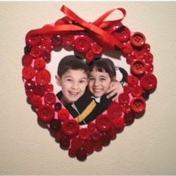 Image of Valentine Button Frame