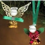 Image of Reeses King and Queen Angel Ornament