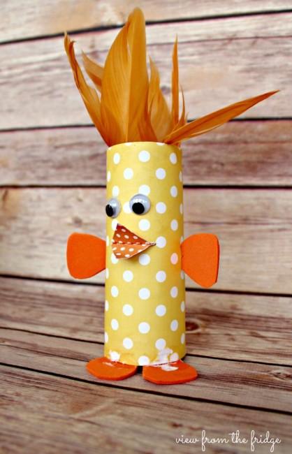 Cardboard Tube Chick