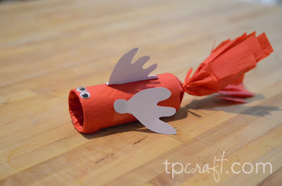 Image of Cardboard Tube Fish