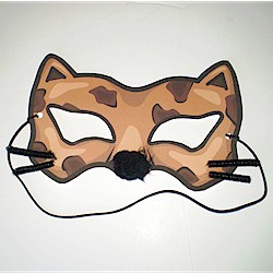 Printable Cheetah Mask