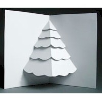 Image of Christmas Tree Pop Up Card
