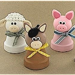 Image of Clay Pot Farm Animals