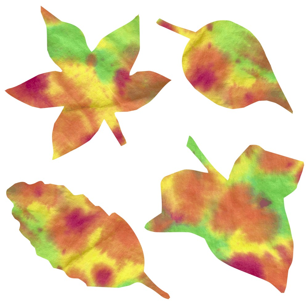 Image of Coffee Filter Fall Leaves