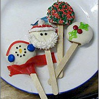 Christmas and Holiday Cookie Pops