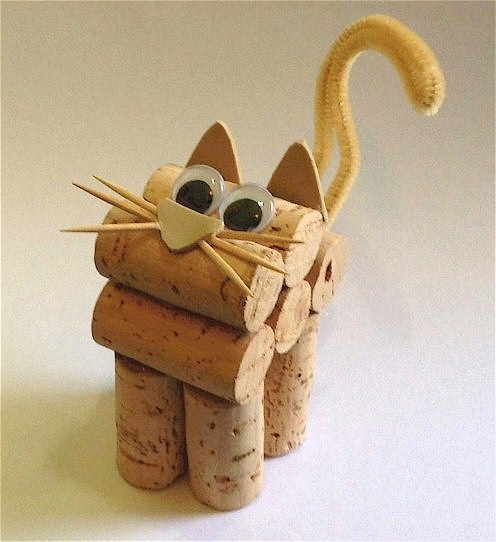 Cute Cork Kitten
