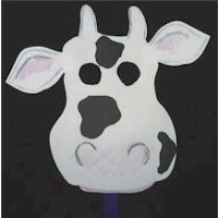 Cool Cow Mask
