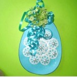 Image of Tissue Paper Easter Eggs