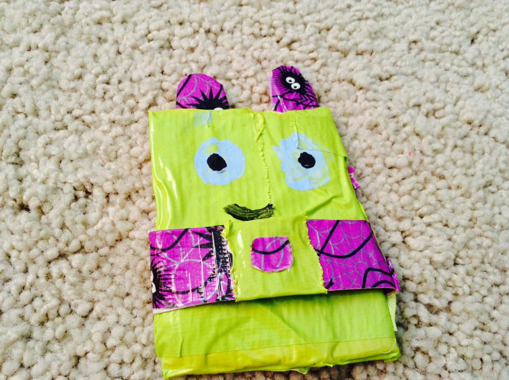 Image of Duct Tape Monster