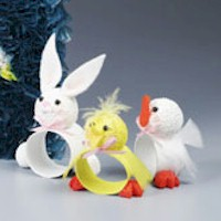 Easter Critters Napkin Rings