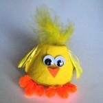 Image of Plastic Easter Egg Chick