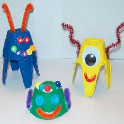 Image of Egg Carton Critters