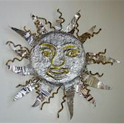 Image of Embossed Foil Sun