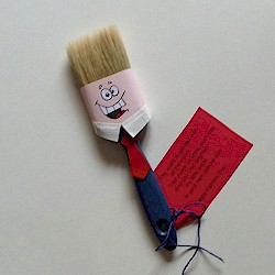 Image of Fathers Day Paintbrush Poem