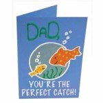 Image of Golf Tee Fathers Day Card
