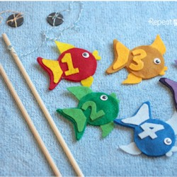 Image of Felt Fishing Game