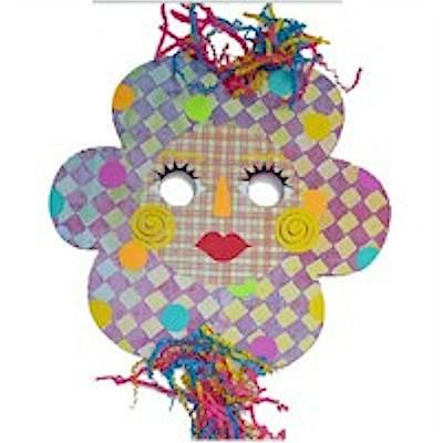 Image of Flower Face Mask