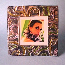 Embossed Foil Frame