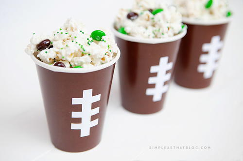 Football Snack Cups