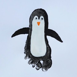 Footprint Penguin