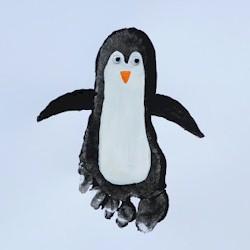 Footprint Penguin