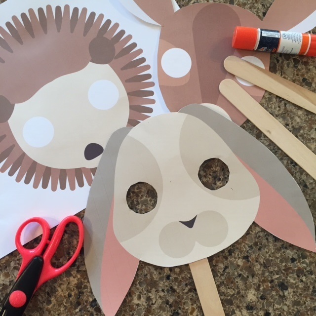 Easy Forest Animals (Masks)