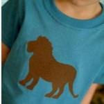 Image of Glue Batik Eagle T Shirt