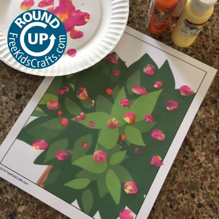 Flower Crafts Roundup