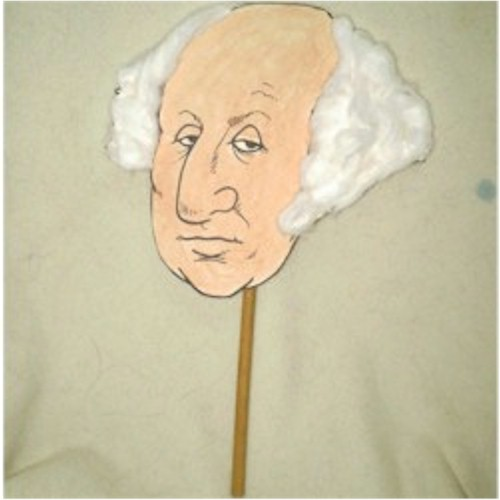 Image of George Washington Puppet