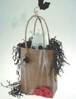 Ghostly Halloween Bag
