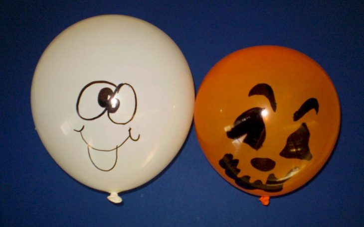 Halloween Balloon Activity