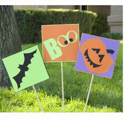 Image of Halloween Yard Stakes