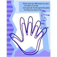 Father's Day Poem and Handprint Card