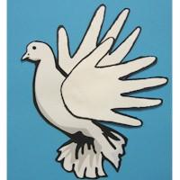 Handprint Dove