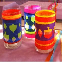 Image of Hanukkah Tissue Paper Cut Outs